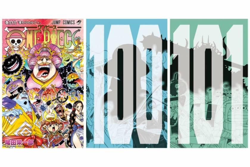 One Piece - Svelata la copertina del volume 100