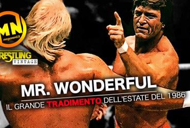 copertina wrestling vintage mr wonderful