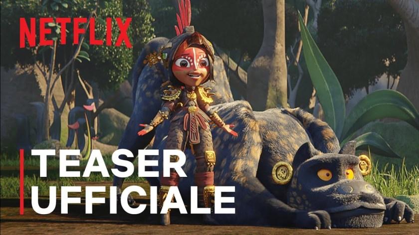 Maya e i tre guerrieri - Trailer della serie animata