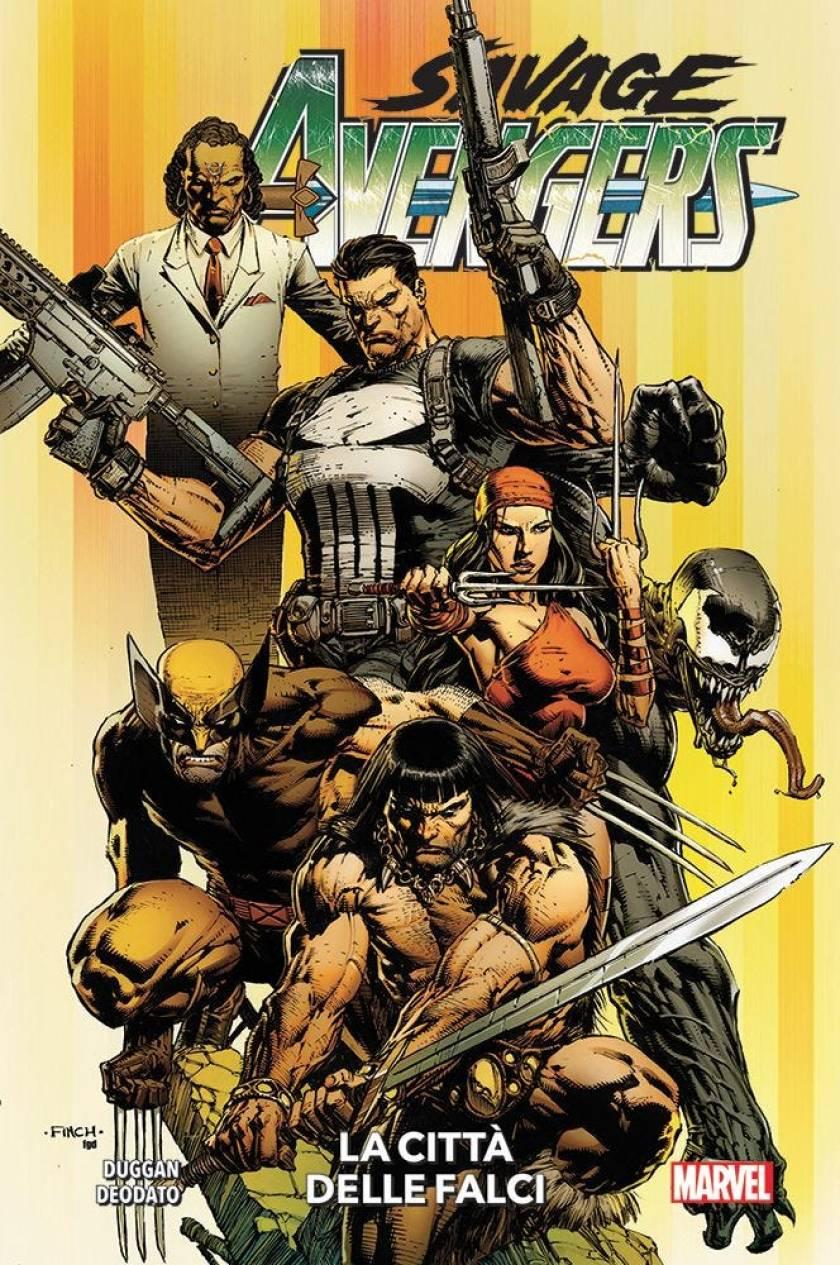 savage avengers 1