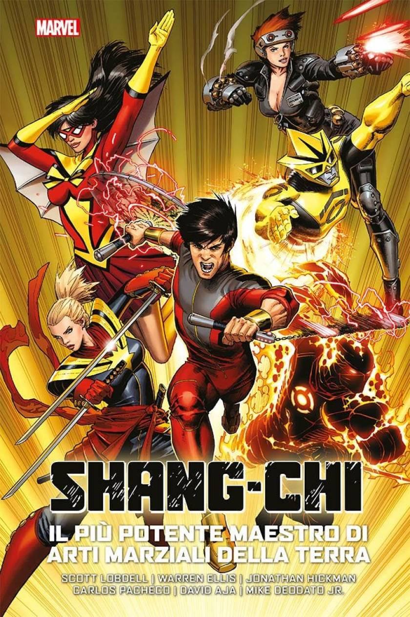 Shang-Chi Il più potetente maestro di arti marziali della terra_cover