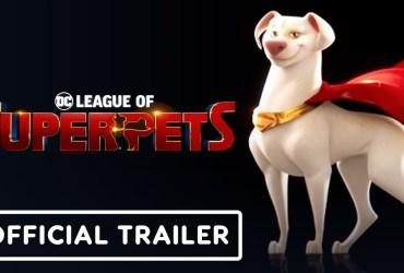 DC League of Super-Pets: Teaser per gli amici a quattro zampe dei supereroi