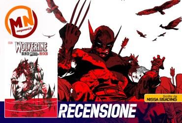recensione wolverine black white blood