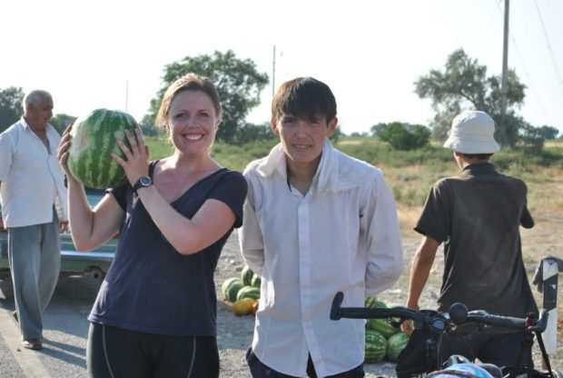 Regret is not being able to fit a watermelon in your panniers.