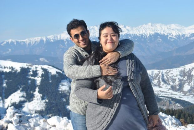 Tzitzijanik and Vatan, Couchsurfing hosts in northeastern Turkey. They recently hosted a man from China who had no problems backpacking extensively throughout Turkish Kurdistan.