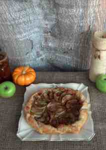 Brie and Apple Galette