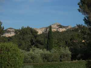 French villa view