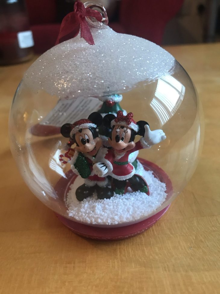 Mickey and Minnie Christmas decoration
