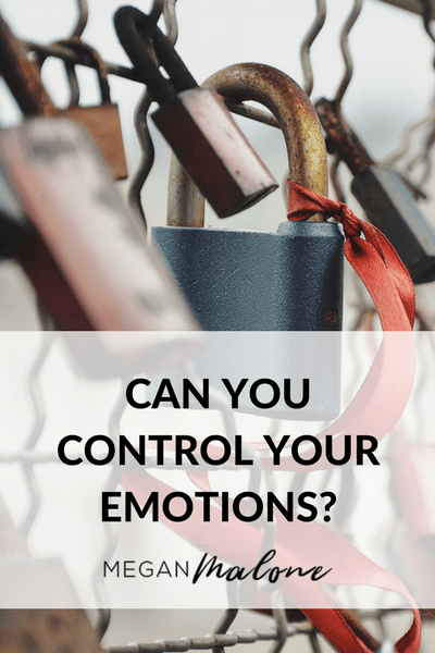 Can you control your emotion