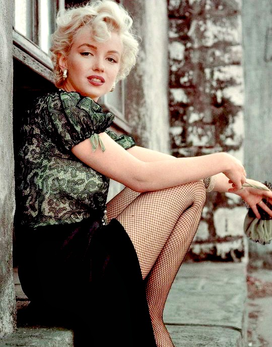 Marilyn by Milton Greene in 1956.