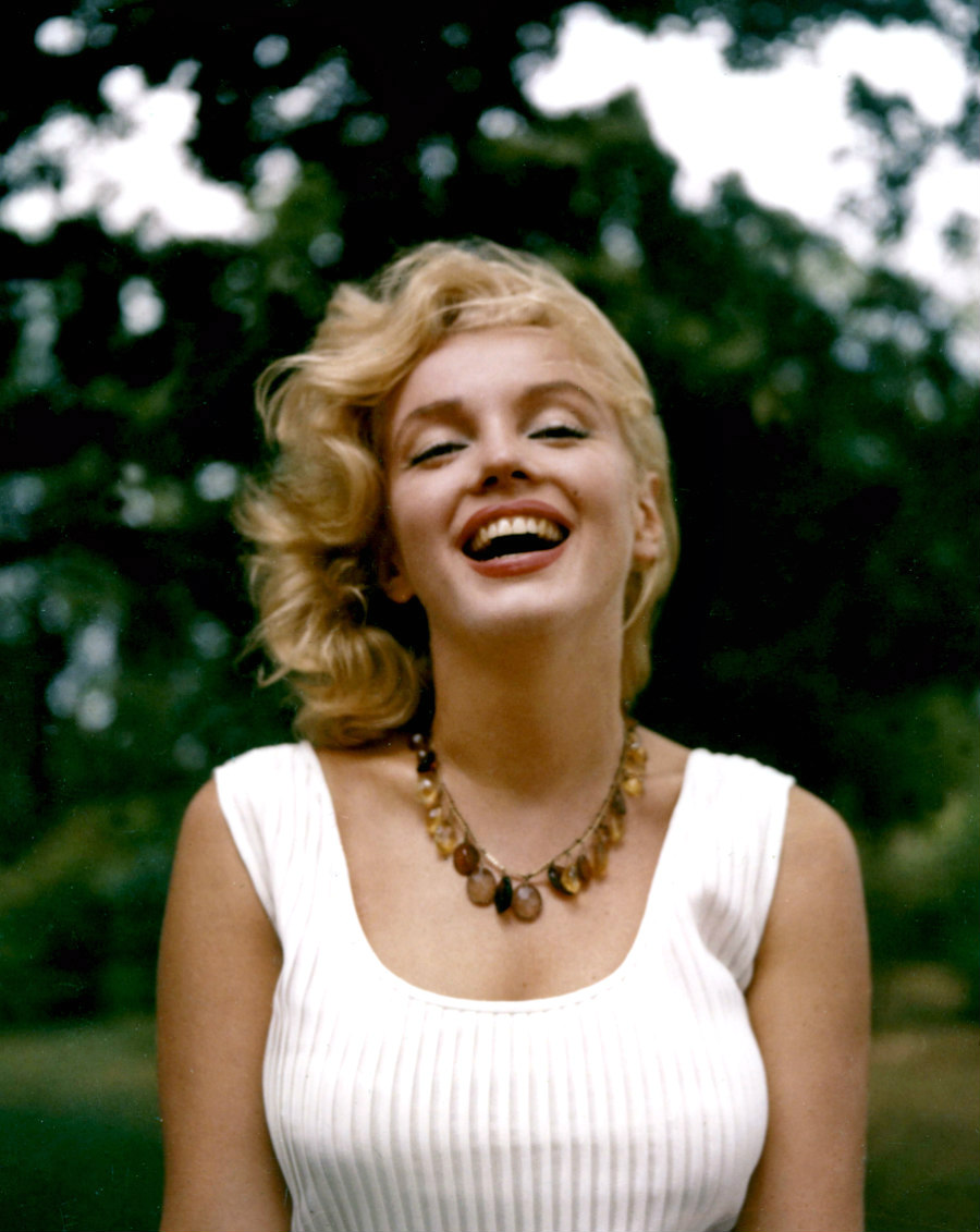 Marilyn by Sam Shaw in the Summer of 1957.