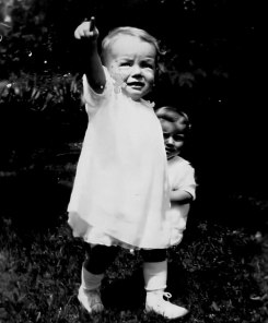 Baby Norma Jeane in 1929.