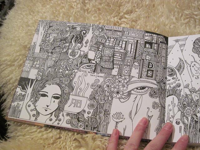 Megan Nols Sketch Journal 2011