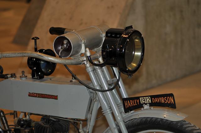 1912 Harley Davidson Motorcycle