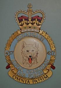 RCAF Squadron 437 Omnia Passim