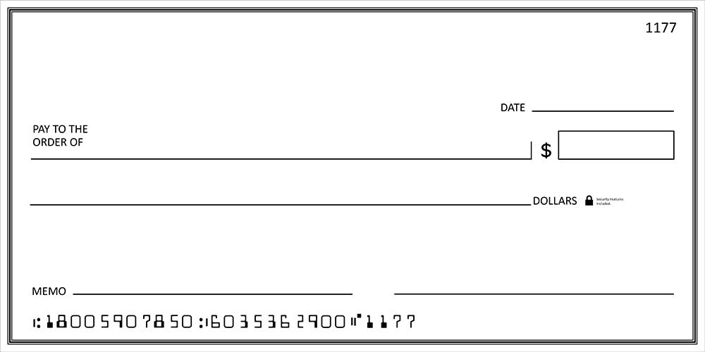 Big Checks Large Presentation Checks Megaprint