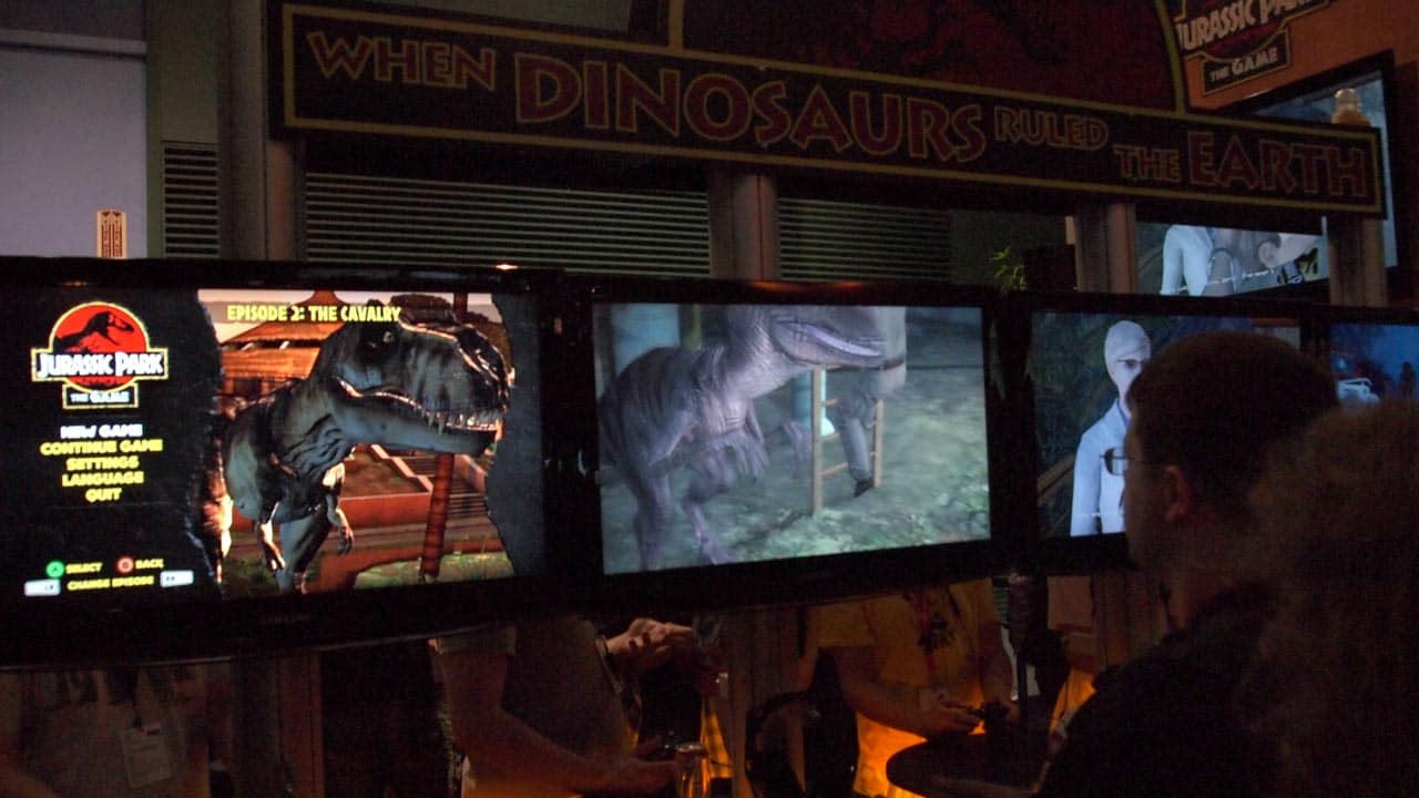 PAX 2011 Hands On With Jurassic Park The Game MEGATechNews