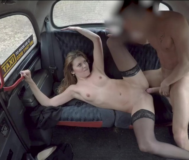 Verona Sky Get Her Tight Pussy Fucked Creampied In The Backseat