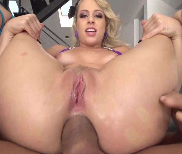Zoey Monroe Stuffs A Butt Plug A Massive Manhood Up Her Ass