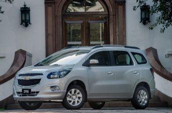 Chevrolet actualizó la Spin en Brasil