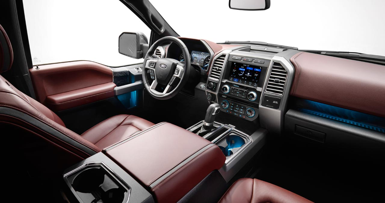 Interior Nueva Ford F-150