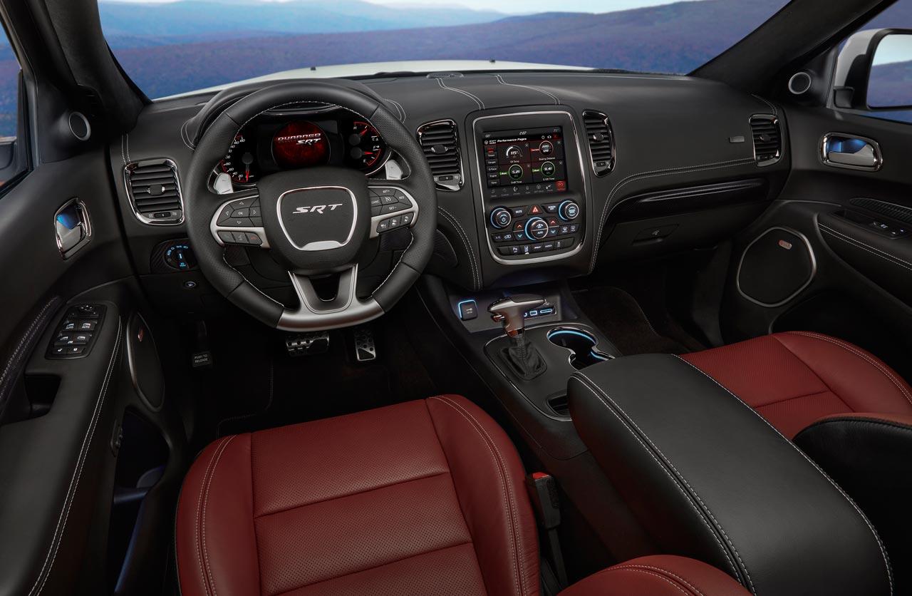 Interior Jeep Srt Sepia