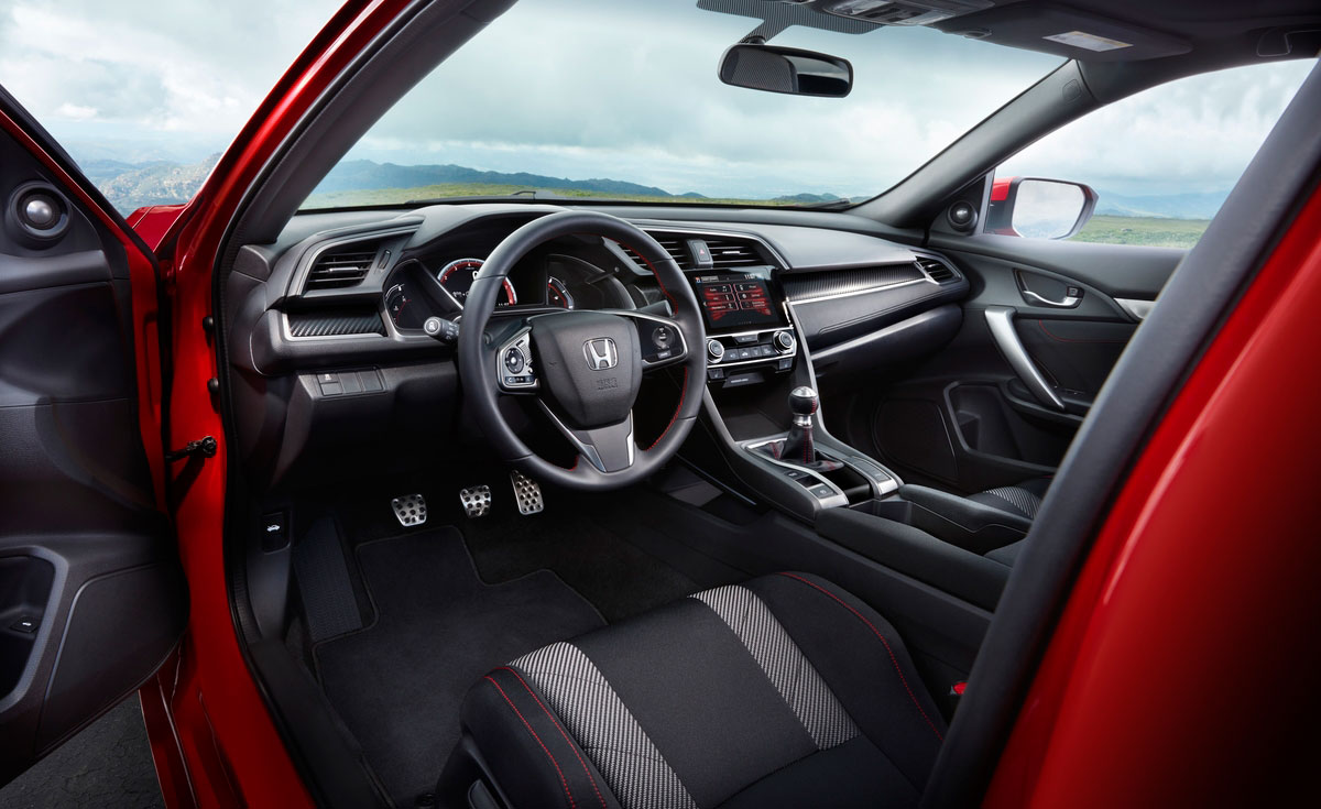 Interior Honda Civic Si