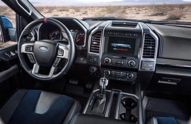 Interior Ford F-150 Raptor