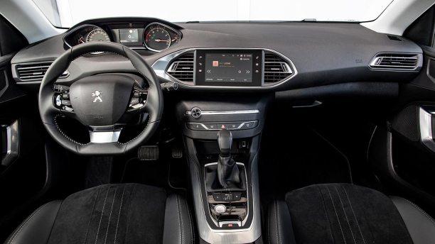 Interior Peugeot 308 S