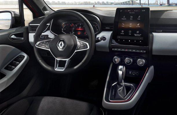 Interior nuevo Renault Clio Intens