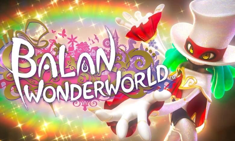 Balan Wonderworld title