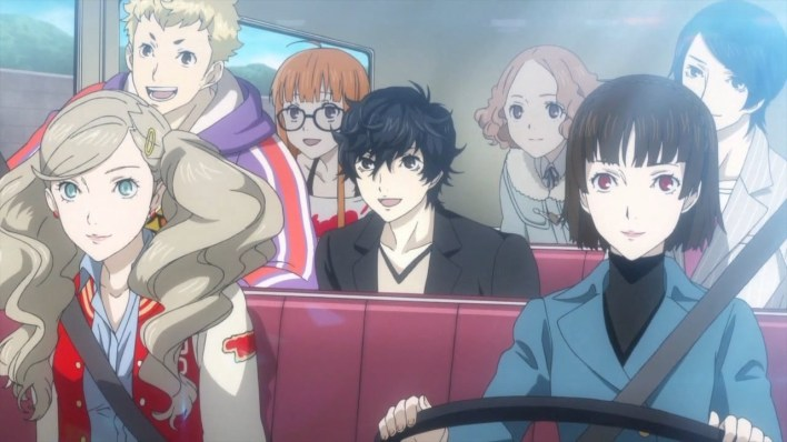 Persona 5 and their friends