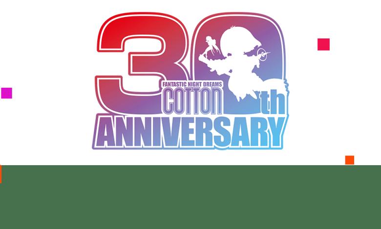 Cotton 30th anniversary logo