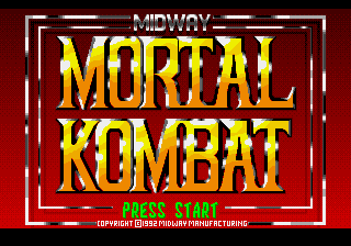 Mortal Kombat Prototype