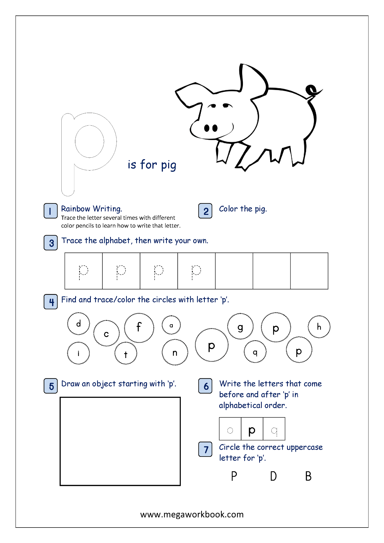 Free Printable Alphabet Recognition Worksheets For Small