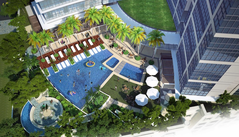 UPS Amenity Top view fort bonifacio condo