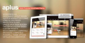 Aplus – Multipurpose WordPress Theme