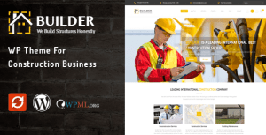 Builder – WP Theme for Construction Business
