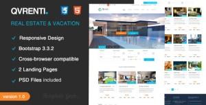Qvrenti – WordPress Real Estate and Rental Responsive Theme