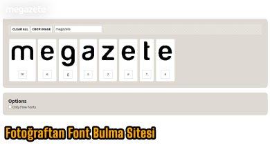 Photo of Resimden Font Bulma Sitesi