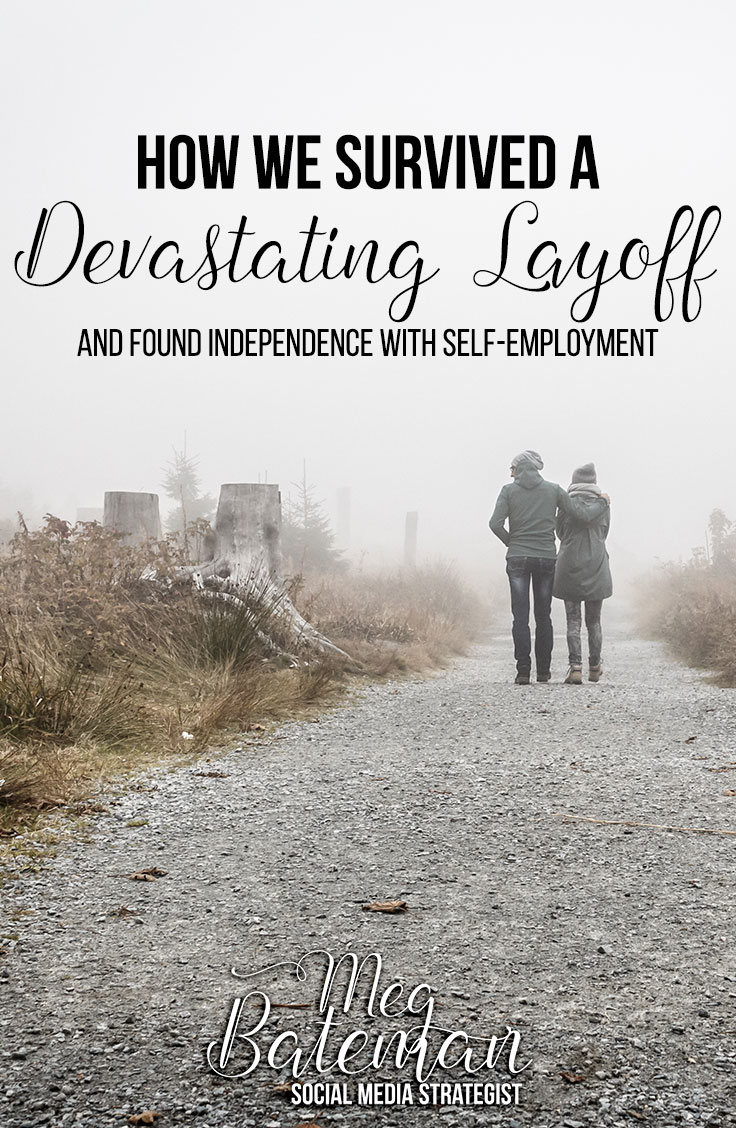 My husband was laid off suddenly and unexpectedly – but we managed to survive a devastating layoff and find independence with self-employment! Here's how you can start a new career from scratch as a virtual assistance or any other telecommuting position!