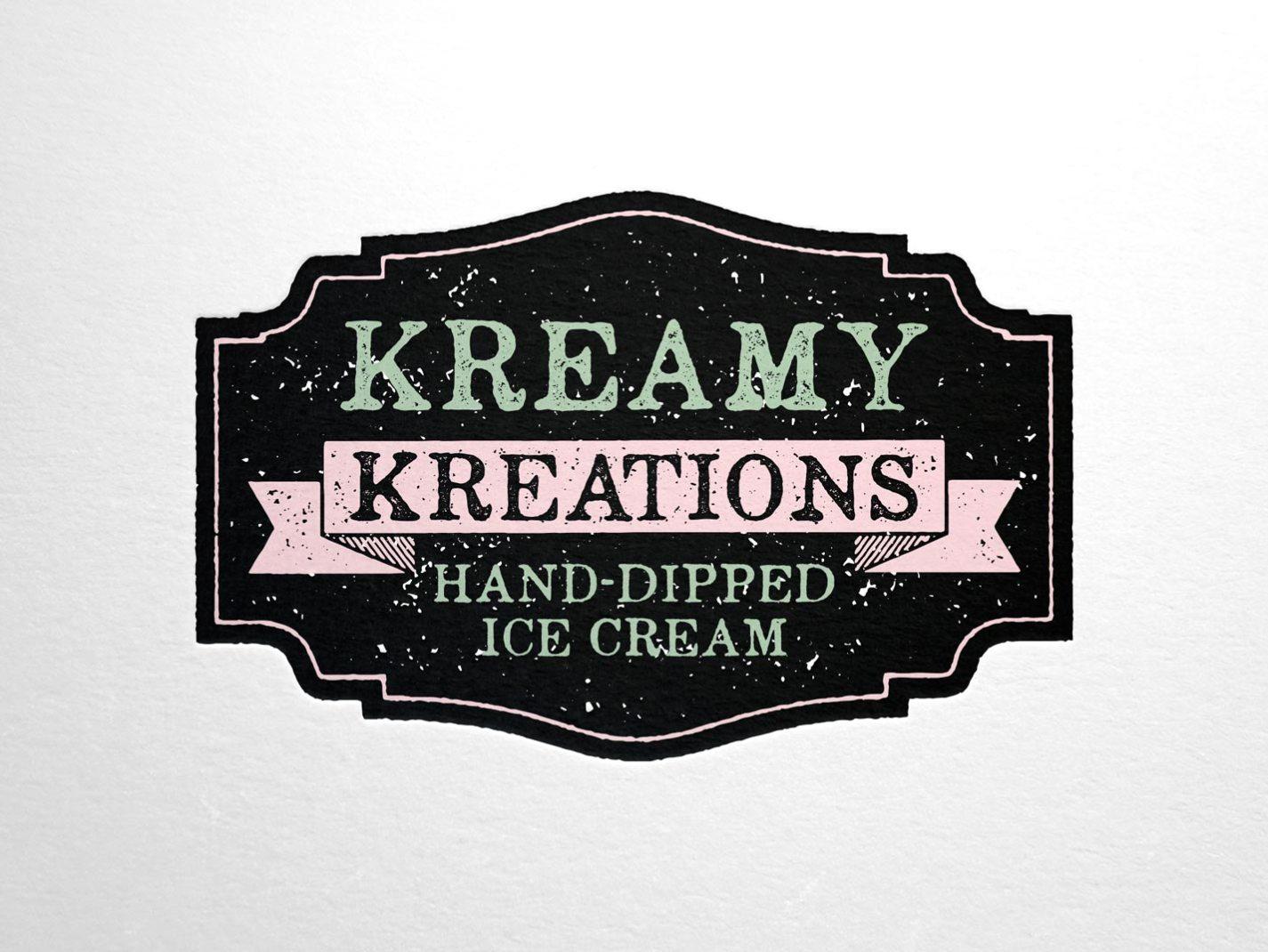 Kreamy Kreations Logo
