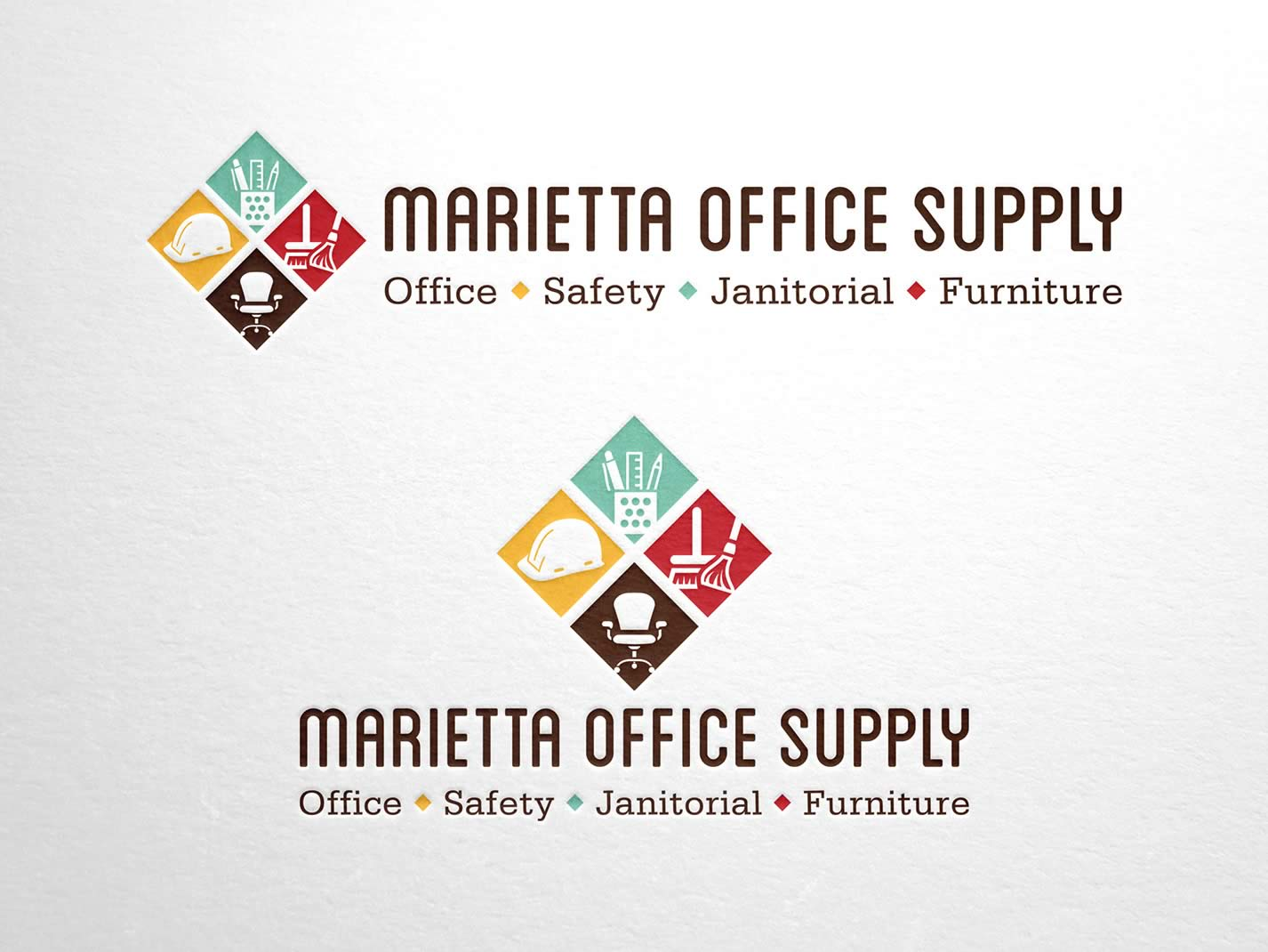 Marietta Office Supply Branding