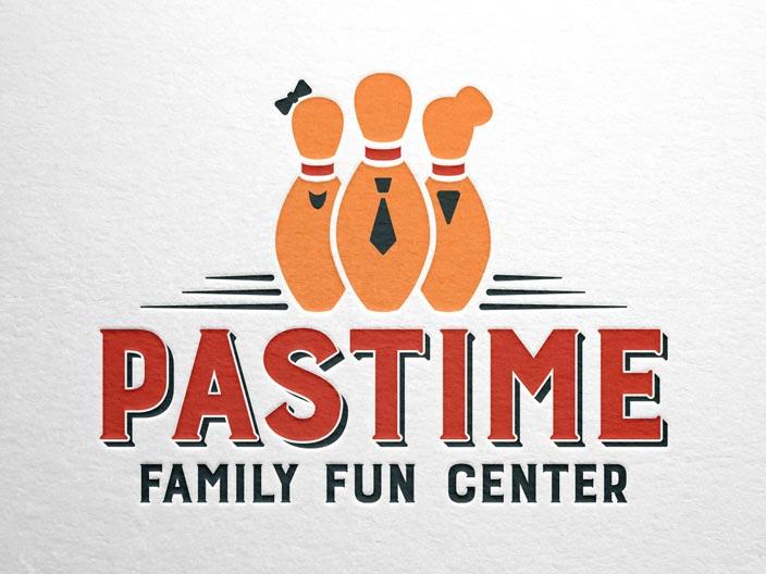 Pastime Family Fun Center Branding