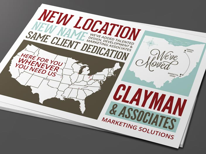 Clayman & Associates Postcard