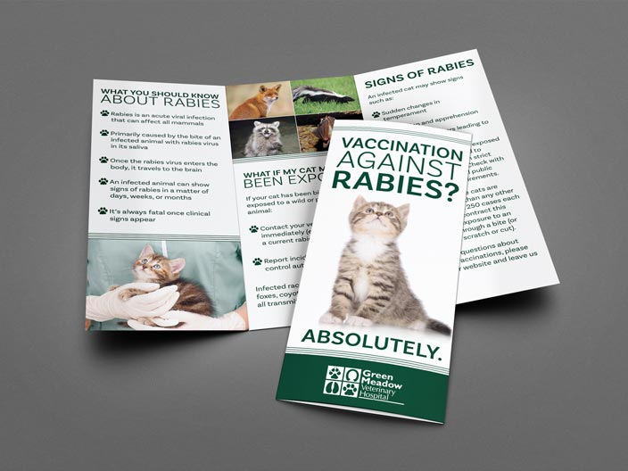 Green Meadow Veterinary Brochure