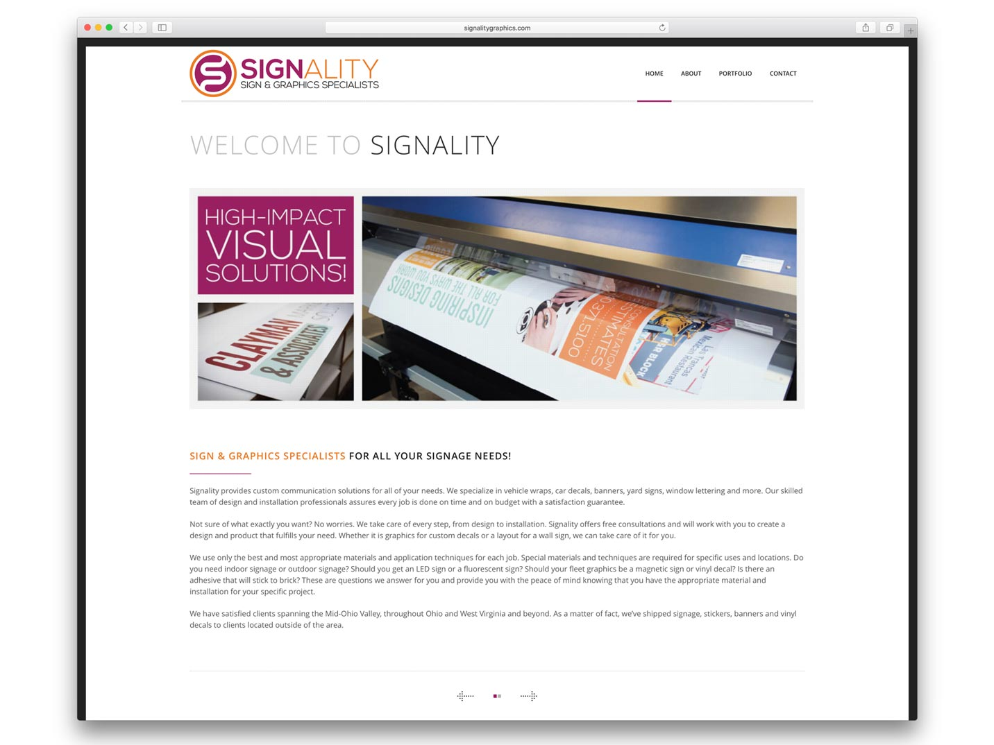 Signality Website