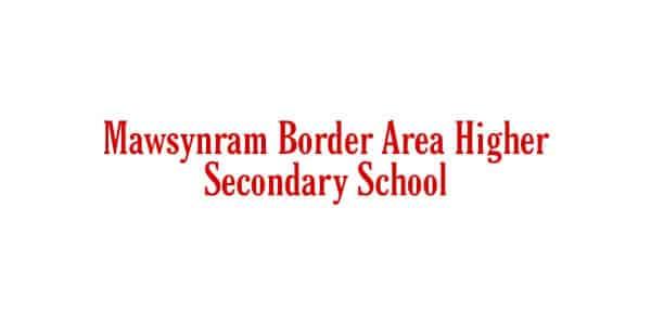 Mawsynram Border Area Higher Secondary School