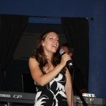 Meghan Beaudry Performing at the Black Moon Music Lounge