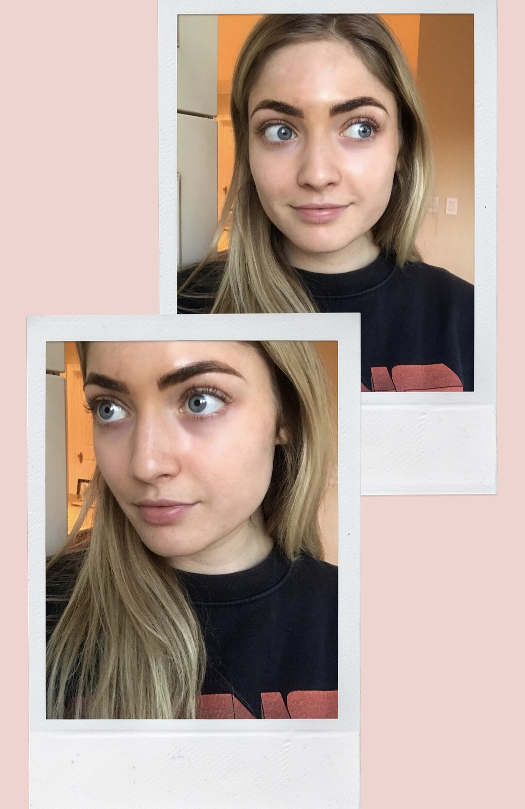 My Microblading Touch Up Experience - The Blonde in Pink